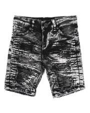 Shorts - Acid Denim Shorts (2-7)-2648639