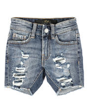 Jordan Craig - Distressed Denim Shorts (2-7)-2648667