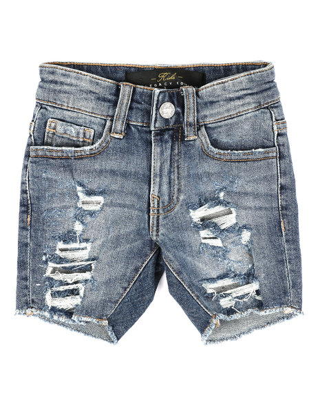 Jordan Craig - Distressed Denim Shorts (2-7)