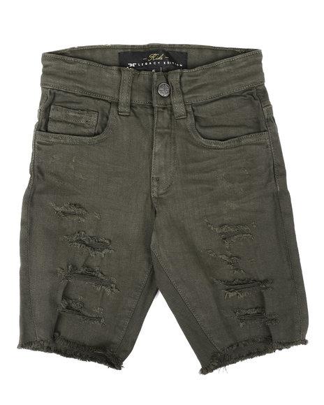 Jordan Craig - Distressed Denim Shorts (2-10)