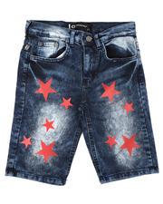 Akademiks - Star Print Denim Shorts (8-18)-2648688