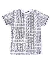 Arcade Styles - Legend Repeat Print Tee (8-20)-2649153