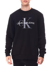Calvin Klein - LONG SLEEVE MONOGRAM CREW SWEATSHIRT-2651515