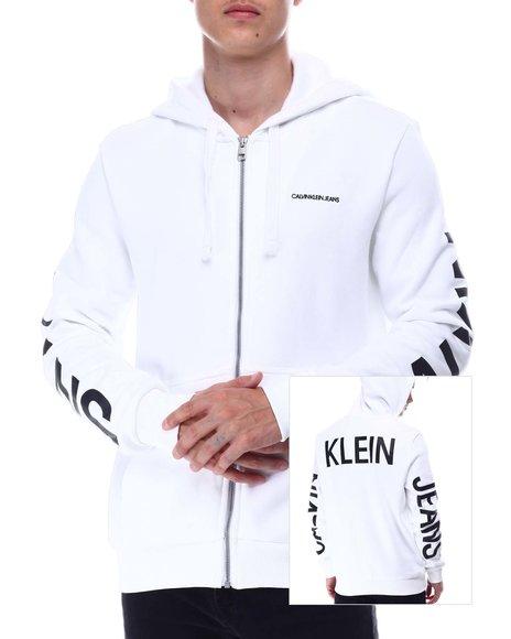 Calvin Klein - LS TRAVELING LOGO PO HOODIE