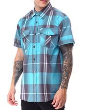 Buyers Picks - Window Pane Plaid S/S Woven Shirt-2650788