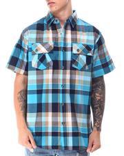 Buyers Picks - Triple Box Plaid SS Woven Shirt-2650799