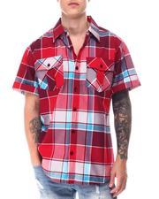 Buyers Picks - Triple Box Plaid SS Woven Shirt-2650810