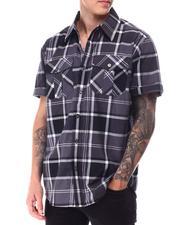 Short-Sleeve - Candy Plaid SS buttonfront Shirt-2650816