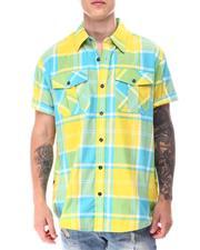 Buyers Picks - Candy Plaid SS buttonfront Shirt-2650822