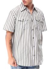 Buyers Picks - Stripe SS Woven Shirt-2650828