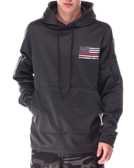 Rothco - Rothco Thin Blue Line Concealed Carry Hoodie