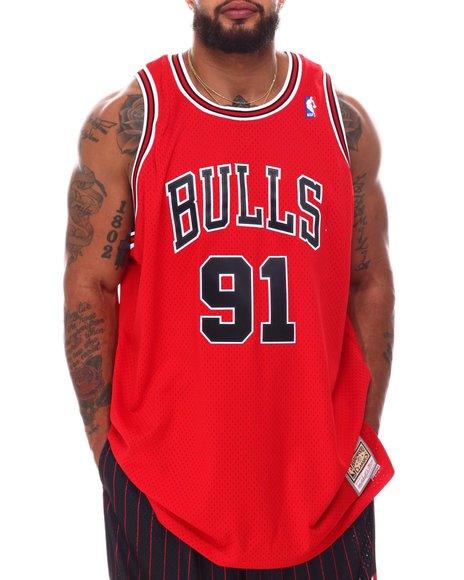 Mitchell & Ness - Bulls Rodman #91 Swingman Jersey (B&T)