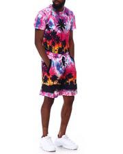 Sets - Sunset Palm Tee Shorts Set-2652179