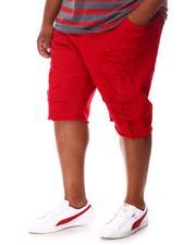 Jordan Craig - Distressed Denim Shorts (B&T)-2653183