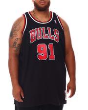 Mitchell & Ness - Bulls Rodman #91 Swingman Jersey (B&T)-2653352