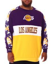 NBA, MLB, NFL Gear - Lakers Leading Fleece Top (B&T)-2653233