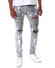 KDNK - Ripped Jeans with Paint-2653614