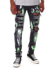 KDNK - Ripped Jeans with Paint-2653505