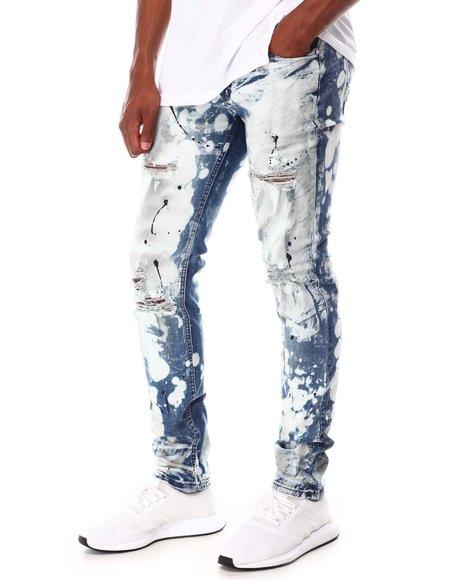 Buyers Picks - Distressed Ink Splatter Jean