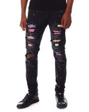 KDNK - Rainbow Patched Jeans w Rainbow patches-2653463