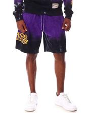 Mitchell & Ness - LOS ANGELES LAKERS Tie-Dye Terry Short-2653864