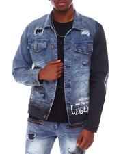 Outerwear - Paisley Denim Jacket-2653730