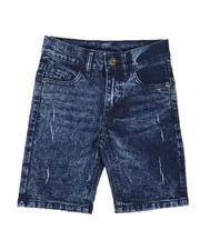 Shorts - Acid Distressed Denim Shorts (4-7)-2651230
