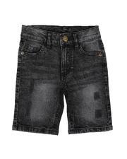 Shorts - Acid Distressed Denim Shorts (4-7)-2651235