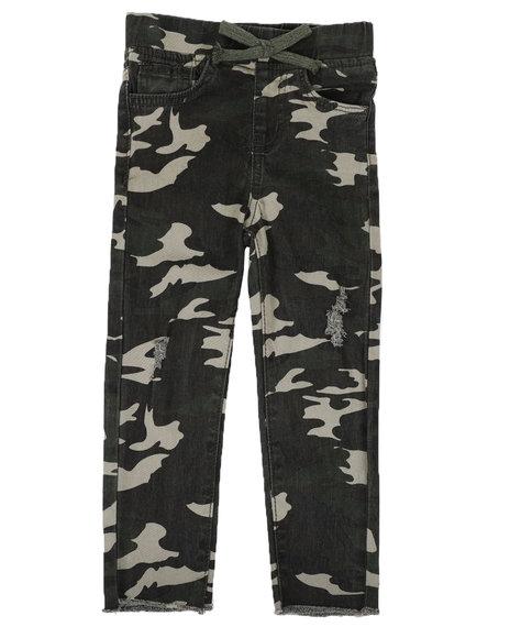 YMI Jeans - Camo Twill Jeans (4-7)