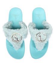 Baby Phat - Amina Faux Fur Sandals-2637449