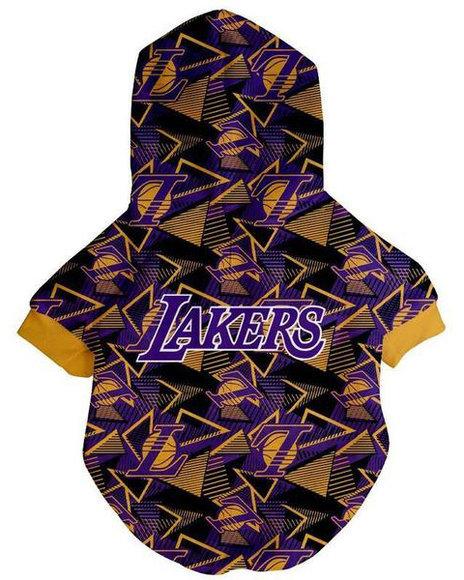 Fresh Pawz - Los Angeles Lakers x Fresh Pawz Hardwood Hoodie