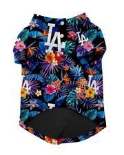 Pet Shop - Los Angeles Dodgers x Fresh Pawz Hawaiian Button Up-2654576