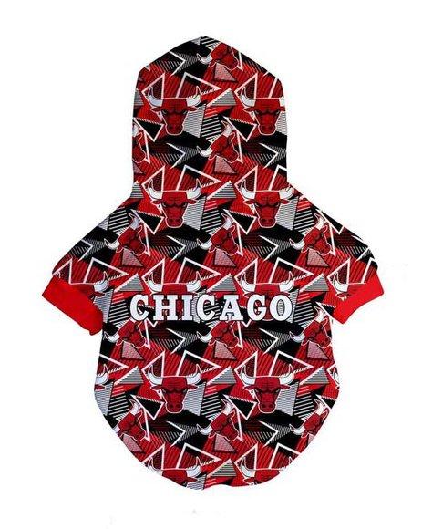 Fresh Pawz - Chicago Bulls x Fresh Pawz Hardwood Hoodie