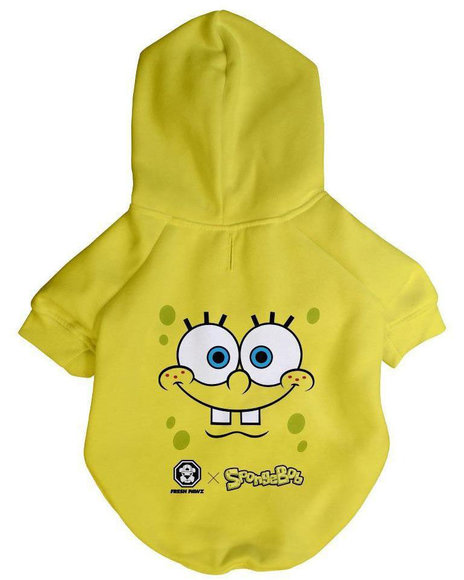 Fresh Pawz - SpongeBob x Fresh Pawz SB Face Hoodie