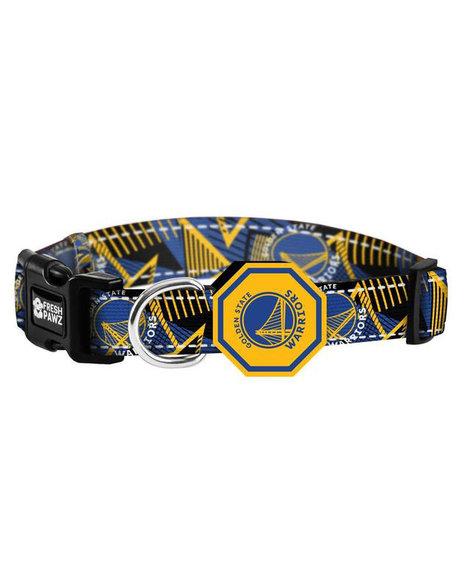 Fresh Pawz - Golden State Warriors x Fresh Pawz Hardwood Collar