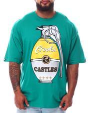 Crooks & Castles - OG Grenade T-Shirt (B&T)-2654673
