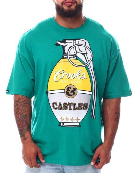 Crooks & Castles - OG Grenade T-Shirt (B&T)