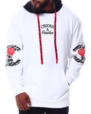 Hoodies - Roses Pullover Hoodie (B&T)-2654519