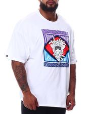 Crooks & Castles - Medusa Stamp T-Shirt (B&T)-2654681