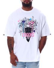 Crooks & Castles - Splatter Medusa T-Shirt (B&T)-2654685