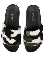 Women - RIO72L Faux Fur Slides-2653579