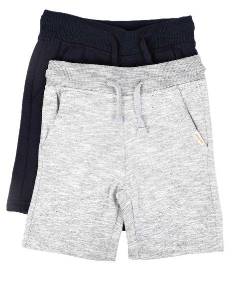 Weatherproof - 2 Pk Marled & Solid Fleece Shorts (8-20)