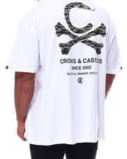 Crooks & Castles - Crossbone Snake T-Shirt (B&T)-2654729