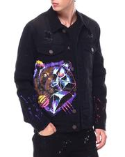 Outerwear - Legend Bear Denim Jacket-2653724