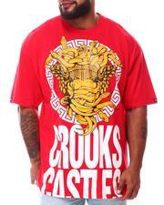 Crooks & Castles - Medusa Greco Block T-Shirt (B&T)-2654907