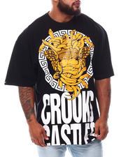 Crooks & Castles - Medusa Greco Block T-Shirt (B&T)-2654978