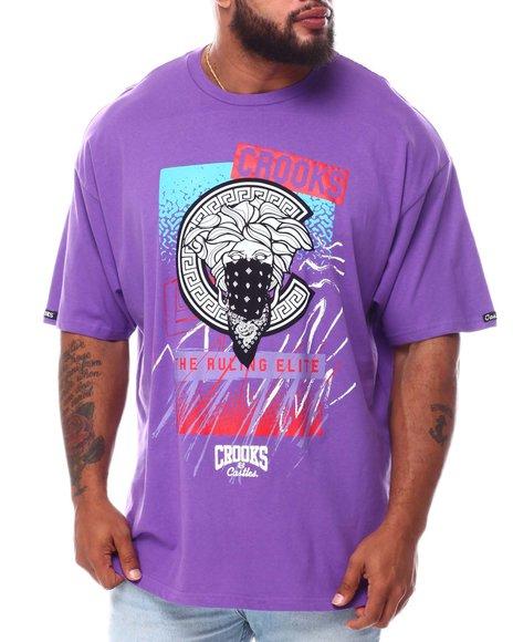 Crooks & Castles - Elite T-Shirt (B&T)