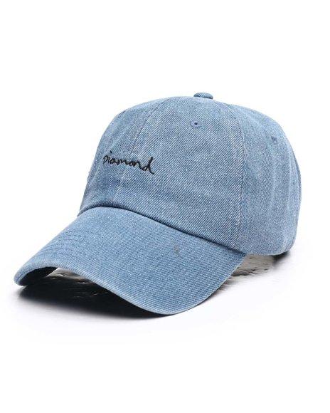 Diamond Supply Co - OG Script Denim Sports Hat