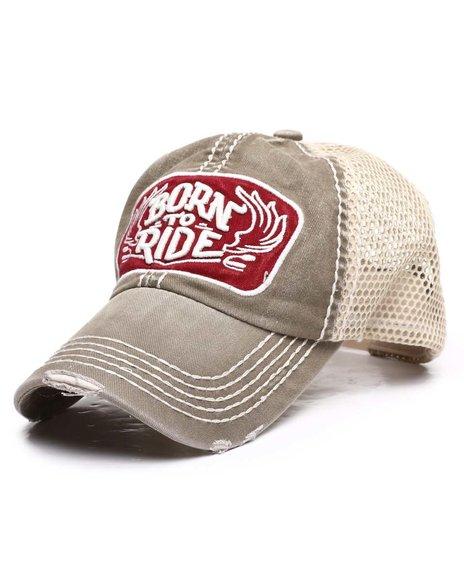 Buyers Picks - Born To Ride Vintage Ballcap