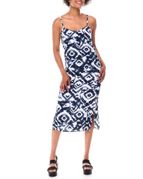 Fashion Lab - Slip Dress W/Side Slit